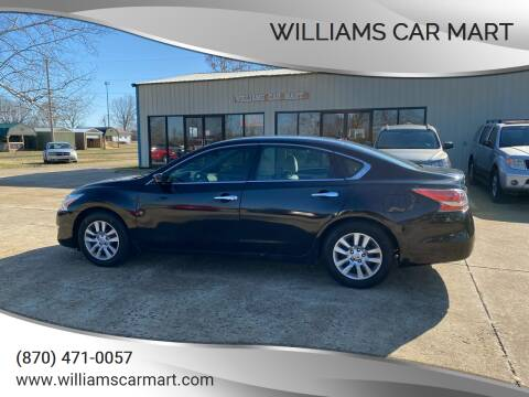 2015 Nissan Altima for sale at WILLIAMS CAR MART in Gassville AR