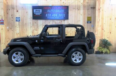 2012 Jeep Wrangler for sale at Boone NC Jeeps-High Country Auto Sales in Boone NC