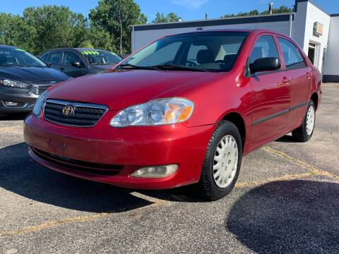 2004 Toyota Corolla for sale at HIGHLINE AUTO LLC in Kenosha WI