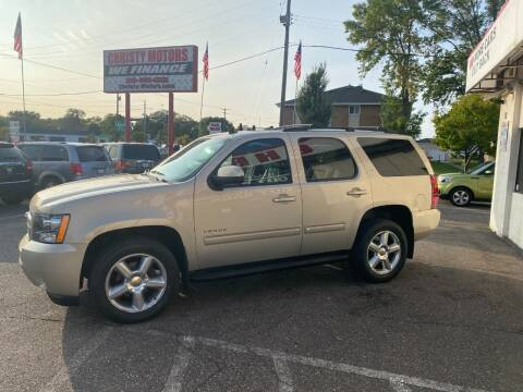2011 Chevrolet Tahoe for sale at Christy Motors in Crystal MN