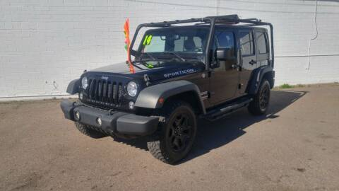 2014 Jeep Wrangler Unlimited for sale at Advantage Auto Motorsports in Phoenix AZ