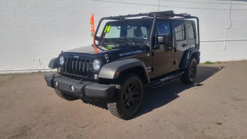 2014 Jeep Wrangler Unlimited for sale at Advantage Auto Motorsports in Phoenix AZ