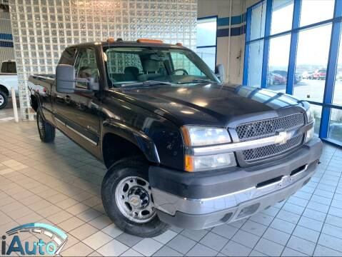 2004 Chevrolet Silverado 2500HD for sale at iAuto in Cincinnati OH