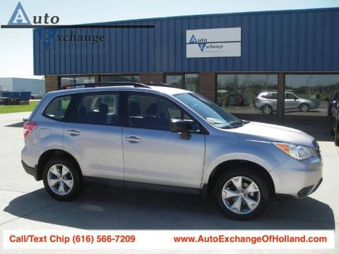 2016 Subaru Forester for sale at Auto Exchange Of Holland in Holland MI