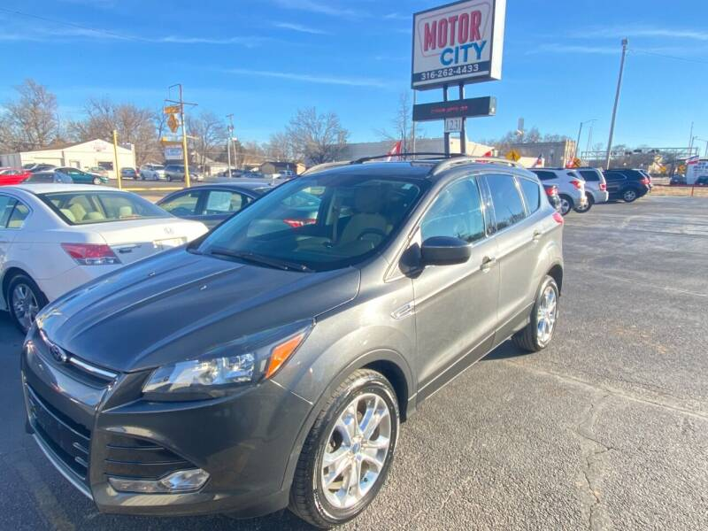 2013 Ford Escape for sale at Motor City Sales in Wichita KS