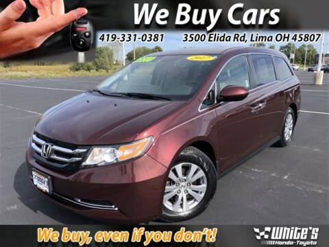 2017 Honda Odyssey for sale at White's Honda Toyota of Lima in Lima OH