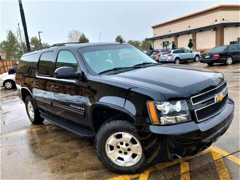 2014 Chevrolet Suburban for sale at CarDen in Denver CO