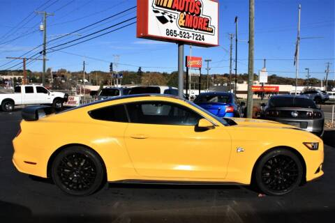 2016 Ford Mustang for sale at Autos and More Inc in Knoxville TN