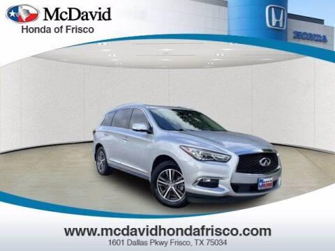 2019 Infiniti QX60 for sale at DAVID McDAVID HONDA OF IRVING in Irving TX