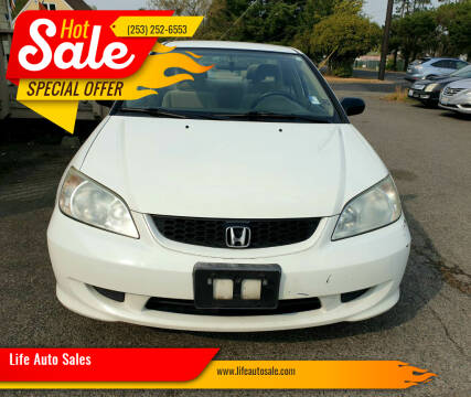 2004 Honda Civic for sale at Life Auto Sales in Tacoma WA