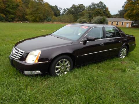 2009 Cadillac DTS for sale at Happy Bear Auto Sales & Service in Taunton MA