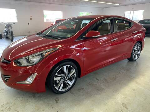 2016 Hyundai Elantra for sale at Stakes Auto Sales in Fayetteville PA