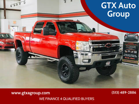 2011 Chevrolet Silverado 2500HD for sale at GTX Auto Group in West Chester OH