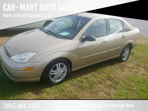 2002 Ford Focus for sale at CAR-MART AUTO SALES in Maryville TN