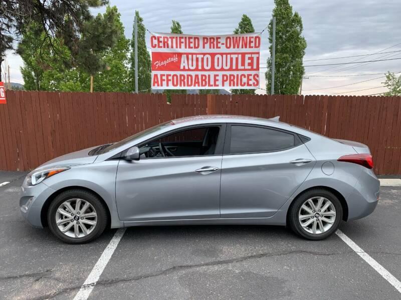 2012 Hyundai Elantra for sale at Flagstaff Auto Outlet in Flagstaff AZ