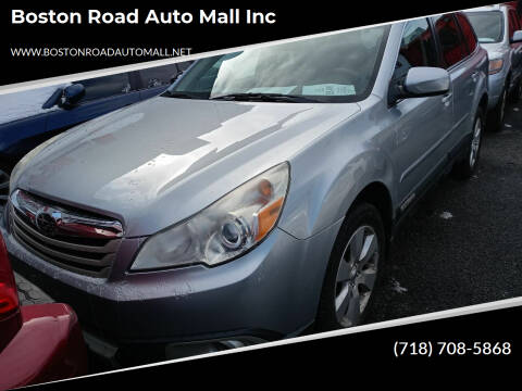 2012 Subaru Outback for sale at Boston Road Auto Mall Inc in Bronx NY