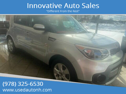 2018 Kia Soul for sale at Innovative Auto Sales in North Hampton NH
