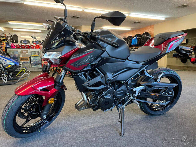 2021 Kawasaki Z400 for sale at ROUTE 3A MOTORS INC in North Chelmsford MA