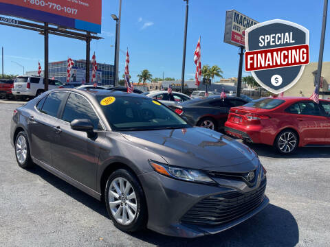 2019 Toyota Camry for sale at MACHADO AUTO SALES in Miami FL
