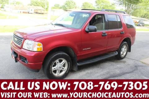 2005 Ford Explorer for sale at Your Choice Autos in Posen IL