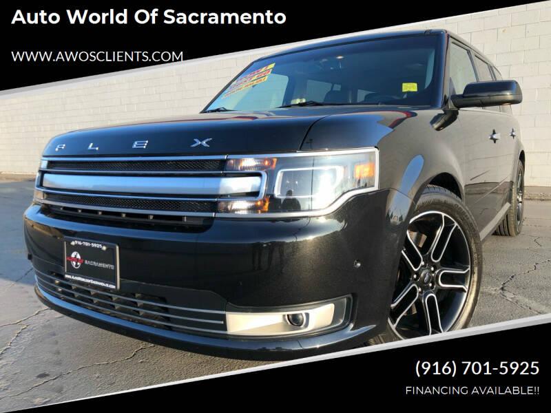2013 Ford Flex for sale at Auto World of Sacramento Stockton Blvd in Sacramento CA
