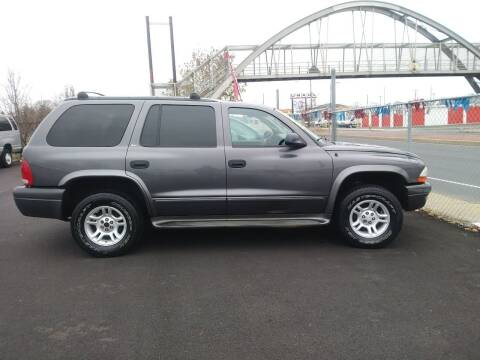 2002 Dodge Durango for sale at 28TH STREET AUTO SALES AND SERVICE in Wilmington DE
