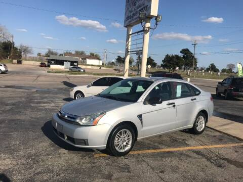 2008 Ford Focus for sale at Patriot Auto Sales in Lawton OK