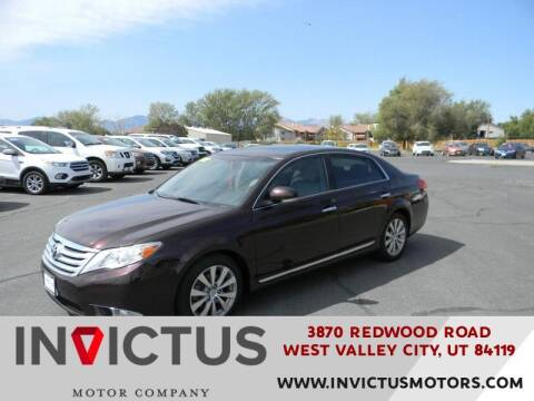 2012 Toyota Avalon for sale at INVICTUS MOTOR COMPANY in West Valley City UT