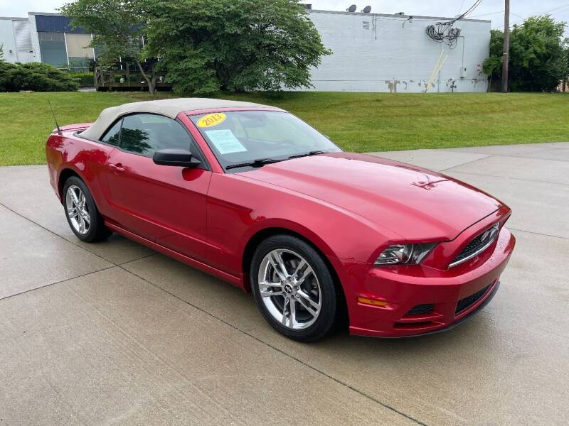 2013 Ford Mustang for sale at Best Buy Auto Mart in Lexington KY