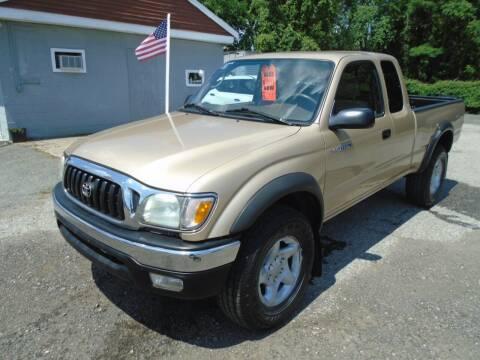 2003 Toyota Tacoma for sale at Taunton Auto & Truck Sales in Taunton MA