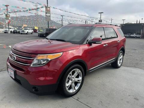 2013 Ford Explorer for sale at Los Compadres Auto Sales in Riverside CA