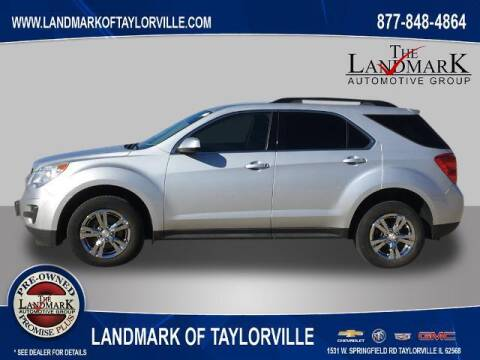2015 Chevrolet Equinox for sale at LANDMARK OF TAYLORVILLE in Taylorville IL