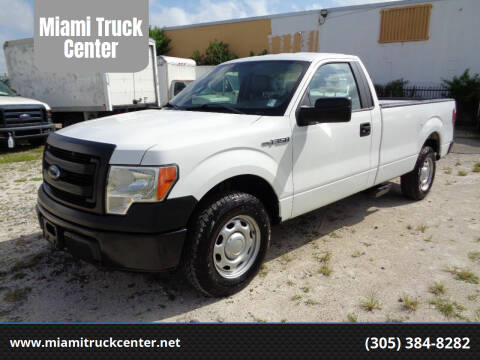 2013 Ford F-150 for sale at Miami Truck Center in Hialeah FL