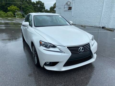 2016 Lexus IS 200t for sale at LUXURY AUTO MALL in Tampa FL