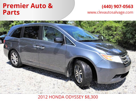 2012 Honda Odyssey for sale at Premier Auto & Parts in Elyria OH