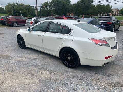 2011 Acura TL for sale at GET N GO USED AUTO & REPAIR LLC in Martinsburg WV