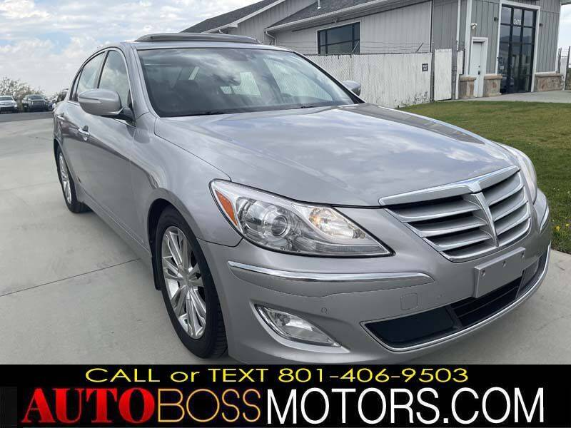 2013 Hyundai Genesis for sale at Auto Boss in Woods Cross UT