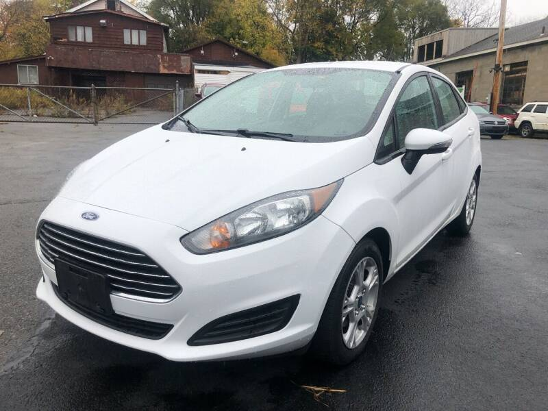 2015 Ford Fiesta for sale at JB Auto Sales in Schenectady NY