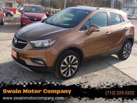 2017 Buick Encore for sale at Swain Motor Company in Cherokee IA