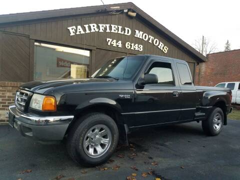 2003 Ford Ranger for sale at Fairfield Motors in Fort Wayne IN