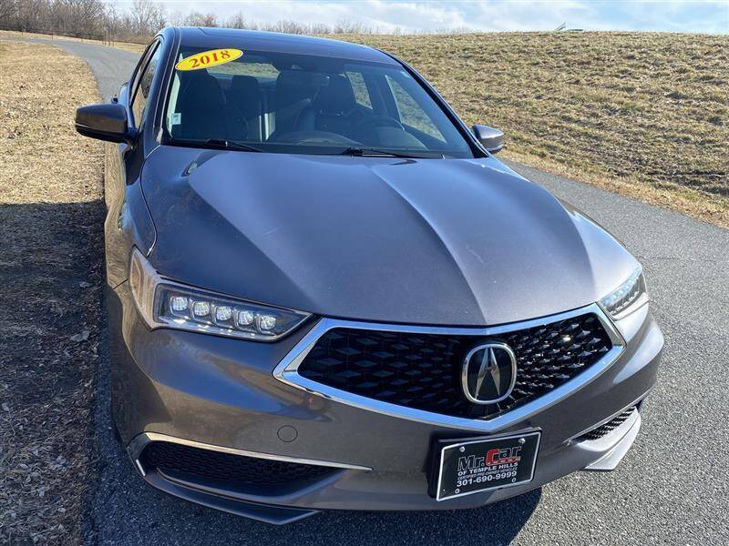 2018 Acura TLX for sale at Mr. Car City in Brentwood MD