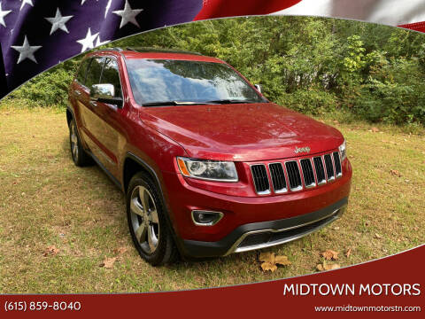 2014 Jeep Grand Cherokee for sale at Midtown Motors in Greenbrier TN