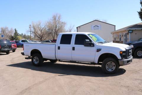 2008 Ford F-350 Super Duty for sale at Northern Colorado auto sales Inc in Fort Collins CO