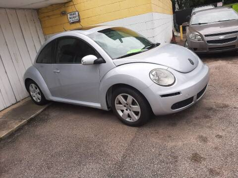 2007 Volkswagen New Beetle for sale at All Star Auto Sales of Raleigh Inc. in Raleigh NC