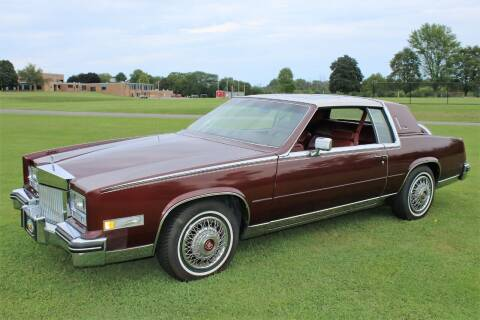 1984 Cadillac Eldorado for sale at Great Lakes Classic Cars & Detail Shop in Hilton NY