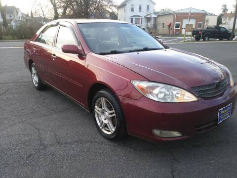 2002 Toyota Camry for sale at Nerger's Auto Express in Bound Brook NJ