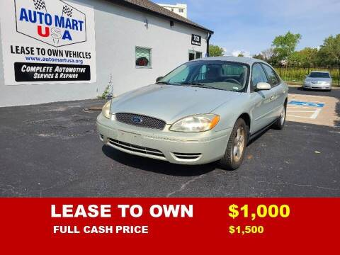 2004 Ford Taurus for sale at Auto Mart USA -Lease To Own in Kansas City MO