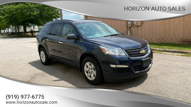 2017 Chevrolet Traverse for sale at Horizon Auto Sales in Raleigh NC