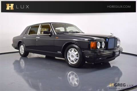 1996 Bentley Brooklands for sale at HGREG LUX EXCLUSIVE MOTORCARS in Pompano Beach FL
