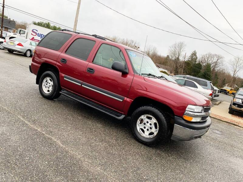 2005 Chevrolet Tahoe for sale at New Wave Auto of Vineland in Vineland NJ